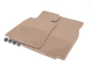 ES#2194115 - W156TN - Front All-Weather Floor Mats - tan - All-weather protection to endure the harshest conditions - WeatherTech - BMW