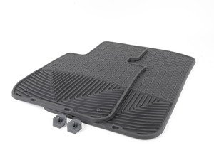 ES#2194981 - W61 - Front All-Weather Floor Mats - Black - All-weather protection to endure the harshest conditions - WeatherTech - BMW