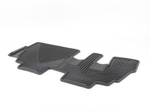ES#2193868 - W145 - rear All-Weather Floor Mats - Black - All-weather protection to endure the harshest conditions - WeatherTech - BMW