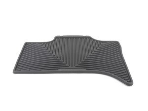 ES#2193895 - W158 - Rear All-Weather Floor Mats - black - All-weather protection to endure the harshest conditions - WeatherTech - BMW