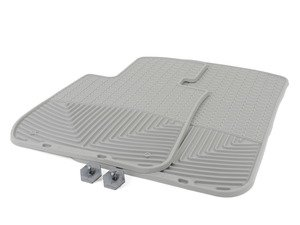 ES#2194991 - W64GR - Front Rubber Mats - Grey - All-weather protection to endure the harshest conditions - WeatherTech - BMW