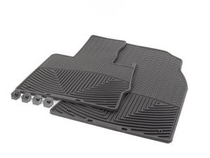 ES#2194895 - W27 - Front All-Weather Floor Mats - black - All-weather protection to endure the harshest conditions - WeatherTech - BMW