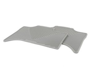 ES#2193896 - W158GR - Rear All-Weather Floor Mats - grey - All-weather protection to endure the harshest conditions - WeatherTech - BMW