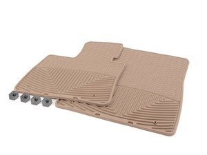ES#2195014 - W74TN - Front All-Weather Floor Mats - tan - All-weather protection to endure the harshest conditions - WeatherTech - BMW