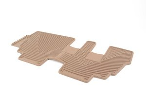 ES#2193870 - W145TN - Rear All-Weather Floor Mats - tan - All-weather protection to endure the harshest conditions - WeatherTech - BMW