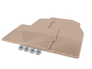 ES#2194897 - W27TN - Front All-Weather Floor Mats - tan - All-weather protection to endure the harshest conditions - WeatherTech - BMW