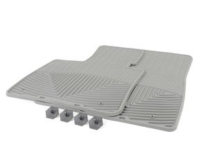 ES#2195013 - W74GR - Front All-Weather Floor Mats - grey - All-weather protection to endure the harshest conditions - WeatherTech - BMW