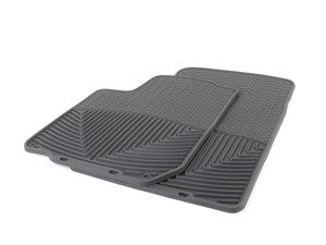 ES#2194907 - W31 - Front All-Weather Floor mats - Black - All-weather protection to endure the harshest conditions - WeatherTech - Audi Volkswagen
