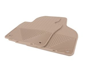 ES#2194971 - W53TN - Front All-Weather Floor Mats - Tan - All-weather protection to endure the harshest conditions - WeatherTech - Audi Volkswagen