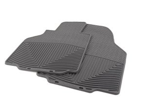 ES#2838945 - W56 - Front all-Weather Floor Mats - Black - All-weather protection to endure the harshest conditions - WeatherTech - Porsche