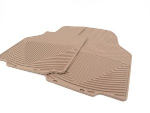 ES#2838947 - W56TN - Front All-Weather Floor Mats - Tan - All-weather protection to endure the harshest conditions - WeatherTech - Porsche