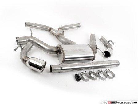 "ES#2863079 - 10297700K - 3"" Stainless Steel Cat-Back Exhaust System - SportTuned T304 Stainless Steel Cat-Back Exhaust System - Autotech - Volkswagen"