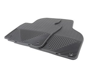 ES#2194969 - W53 - Front All-Weather Floor Mats - Black - All-weather protection to endure the harshest conditions - WeatherTech - Audi Volkswagen