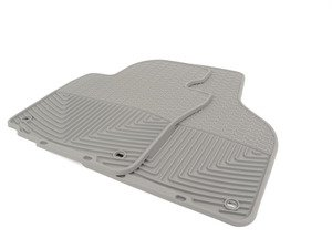 ES#2194970 - W53GR - Front All-Weather Floor Mats - Grey - All-weather protection to endure the harshest conditions - WeatherTech - Audi Volkswagen