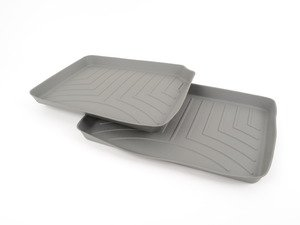 ES#2837904 - 460402 - Rear FloorLiner DigitalFit - Grey - Laser measured for perfect fitment and ultimate protection against moisture and debris - WeatherTech - BMW