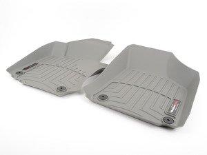 ES#2837984 - 462691 - Front FloorLiner DigitalFit - Grey - Laser measured for perfect fitment and ultimate protection against moisture and debris - WeatherTech - Volkswagen