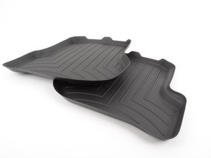 ES#2837576 - 440802 - Rear FloorLiner DigitalFit - black - Laser measured for perfect fitment and ultimate protection against moisture and debris - WeatherTech - Volkswagen
