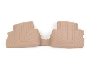 ES#3460077 - 4510892 - Rear FloorLiner DigitalFit - Tan  - Laser measured for perfect fitment and ultimate protection against moisture and debris - WeatherTech - BMW