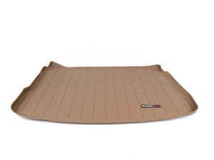ES#2837459 - 41335 - Rear Cargo Liner - tan - The best protection for your trunk in any situation - WeatherTech - Volkswagen