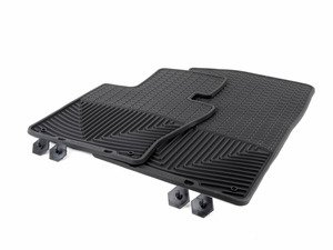 ES#2194987 - W63 - Front All-Weather Floor Mats - black - All-weather protection to endure the harshest conditions - WeatherTech - BMW