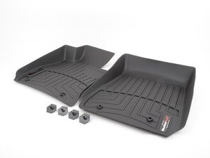 ES#2837602 - 441581 - Front FloorLiner DigitalFit - Laser measured for perfect fitment and ultimate protection against moisture and debris - WeatherTech - BMW