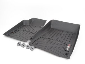 ES#3459812 - 4411971 - Front FloorLiner - Black - E36 compact - Laser measured for perfect fitment and ultimate protection against moisture and debris - WeatherTech - BMW