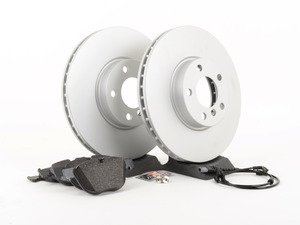 ES#2857579 - 342167932471KT1 - Front Brake Service Kit - Featuring Pagid pads and coated rotors - Assembled By ECS - BMW