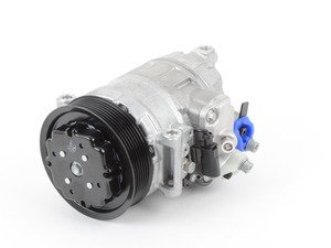 ES#2817018 - 95812601400 - Air Conditioning Compressor - Includes clutch and pulley - Denso - Porsche