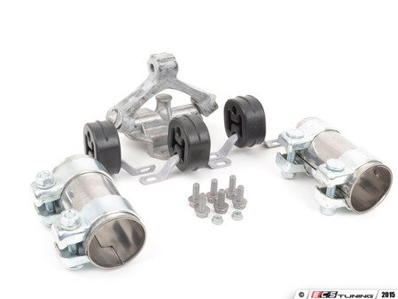 ES#2587651 - 357253141AKT3 - Cat-Back Exhaust Installation Kit - Everything you need to install an exhaust from the downpipe back - Assembled By ECS - Volkswagen