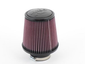 """ES#2862454 - RE0930 - Universal Air Filter - Red - Replacement filter with 3.0"""" inlet. Rubber top. - K&N - Volkswagen"""