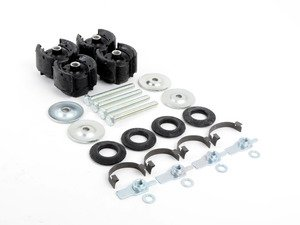 ES#2528815 - 1153301875 - Front Subframe Mount Kit - Includes new subframe mounts and all needed installation hardware - Meyle - Mercedes Benz