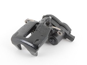 ES#450975 - 8K0615403A - Rear Brake Caliper - Black - Left - Includes the parking brake motor - Genuine Volkswagen Audi - Audi