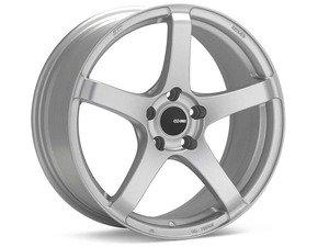 """ES#2864669 - 4767908045SPKT - 17"""" Kojin- Set Of Four - 17""""X9"""" ET45 5x100 - Matte Silver - Enkei Wheels - Audi Volkswagen"""