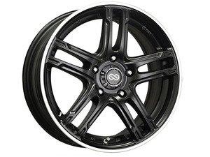 """ES#2864886 - 4348758045BKMKT - 18"""" FD-05 - Set Of Four - 18""""X7.5"""" ET45 5x100 - Black Machined - Enkei Wheels - Audi Volkswagen"""