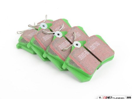 ES#517833 - dp2680 -  Rear GreenStuff Performance Brake Pad Set - Mildly upgraded composite pad, great for and afternoon of sport driving. - EBC - Audi Volkswagen