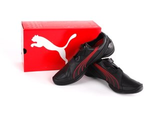 ES#1876260 - 80232158228 - Puma ///M Sneakers - (NO LONGER AVAILABLE) - Black/Red - Euro Size 38/US Size 6 - Genuine BMW -