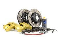 ES#2598721 - 000249ECS02KT - ECS 6-Piston Front Big Brake Kit (338x26) - Featuring ECS 2-piece rotors! - Assembled By ECS - BMW
