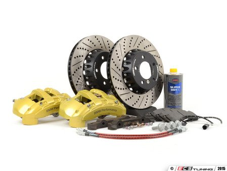 ES#4404930 - E39135BRAKE1 - ECS 6-Piston Front Big Brake Kit (338x26) - Give your BMW incredible stopping power! - Assembled By ECS - BMW