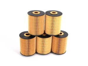 ES#5640 - 077115562-5Pk - Oil Filter - Pack Of 5 - Stock up and save! - Hengst - Volkswagen