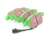 ES#517817 - DP21517 - Front Greenstuff Performance Brake Pad Set - Designed as a mildly upgraded pad, great for an afternoon of sporty driving. - EBC - Audi Volkswagen