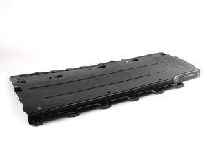 ES#438207 - 8E0825207B - Front Underbody Liner - Left - Often damaged by improper jack placement - Genuine Volkswagen Audi - Audi