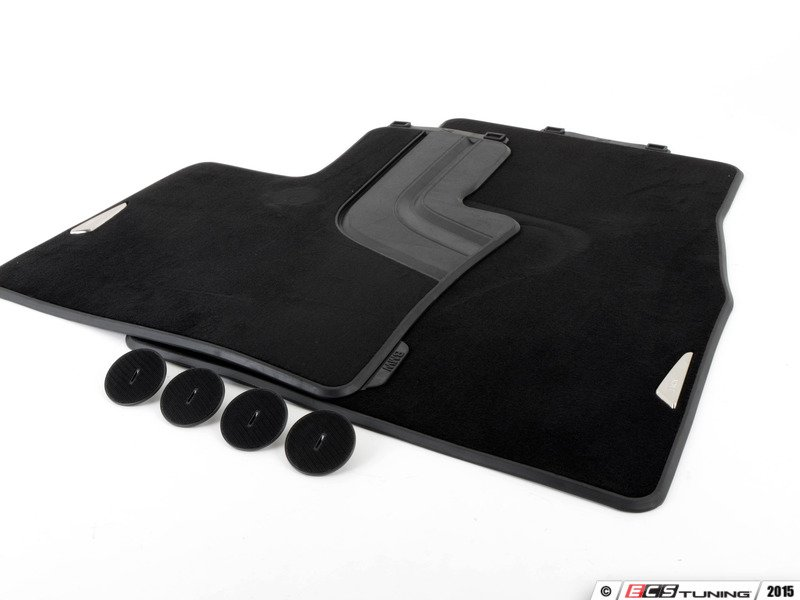 Genuine Bmw 51472347731 Front Carpeted Floor Mat Set