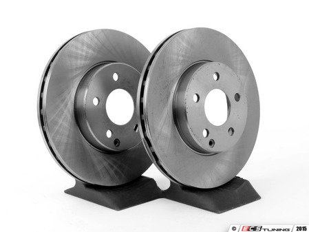 ES#2569827 - 211421081264KT9 - Front Brake Rotors - Pair - Does not include new rotor securing screws - Balo - Mercedes Benz