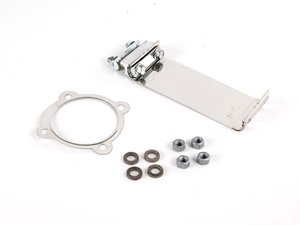 """ES#11710 - APR18TDPAEIK - Downpipe Installation Kit For 2.5"""" Aftermarket Exhaust Systems - Includes 2.5"""" sleeve & downpipe gasket, and related hardware. Made to work on 2.5"""" cat back systems - Assembled By ECS - Volkswagen"""