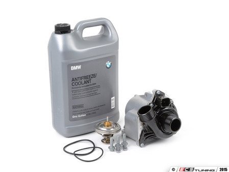 ES#2804281 - 11517632426KT5 - Performance Water Pump And Thermostat Kit - Includes a 74c race thermostat - Assembled By ECS - BMW