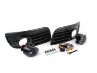 ES#2838979 - MK5GTFGZZAKT - Fog Light Conversion Kit - ZiZa Brand Projector With Golf GT Grilles  - Complete kit to install fog lights on your Jetta, a 37 piece kit - ECS - Volkswagen