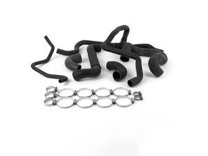 ES#2863376 - 11531718980KT - Coolant Hose Kit - Includes all new coolant hoses and hose clamps - Assembled By ECS - BMW
