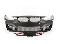 ES#2794878 - F30M3FT-PDC - M3 Front Bumper Conversion - Add the look of the M3 to your 3-Series - ECS - BMW