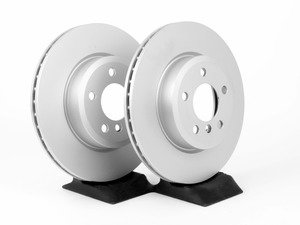 ES#3096669 - 34113400151pKT - Front Brake Rotor - Pair (325x25) - Replacement rotors from an original equipment supplier - Pagid - BMW