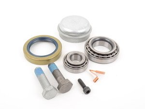 ES#2763246 - 2013300151 - Front Wheel Bearing Kit - Priced Each - Includes inner and outer wheel bearings, wheel seal, cap, and hardware - Ruville - Mercedes Benz